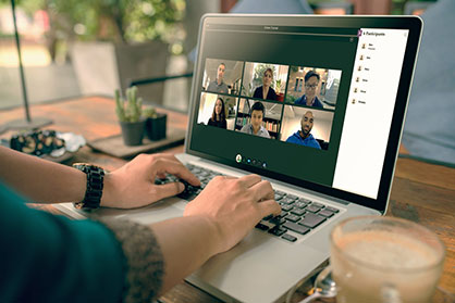 Webinars facilitate collaboration between students and lecturers