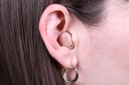 Photo of inear hearing aid
